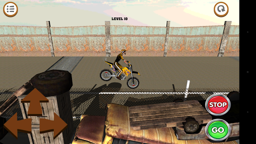 3D Motocross Bike: Industrial