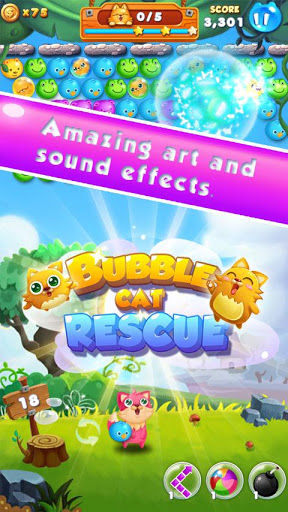 Bubble Cat Rescue