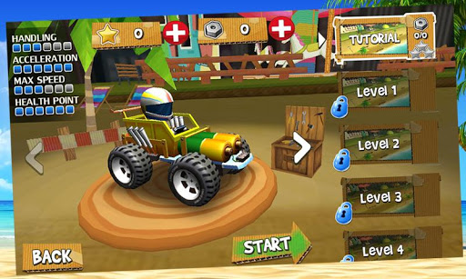 Buggy Car Stunts 3D: Race fun!