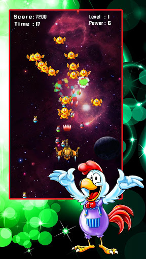 Chicken Shooter: Space Defense