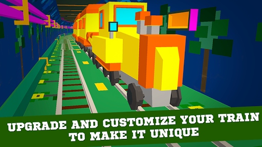 Cube Subway Train Simulator 3D