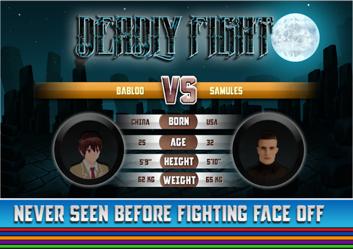 Deadly Fight : Fighting Game