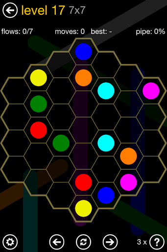 Flow Free: Hexes