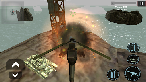 Gunship Heli Air Attack