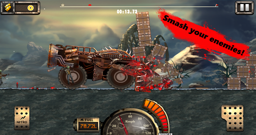 Monster Car Hill Racer 2