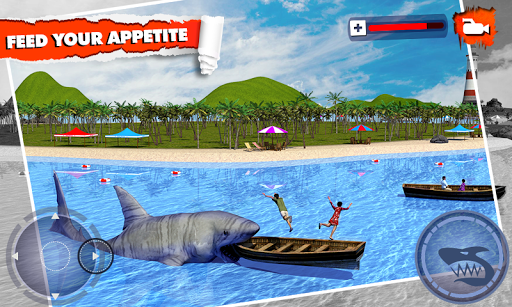 Angry Shark Simulator 3D
