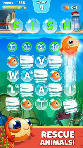 Bubble Words - Letter Splash