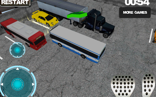 Bus driver: Parking simulator