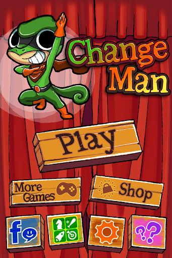 Change Man - Super Hero Game
