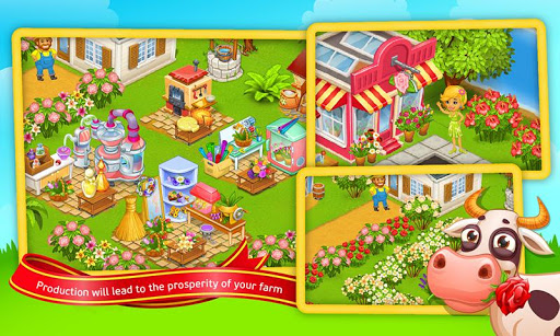 New Farm Town™:Day on Hay Farm