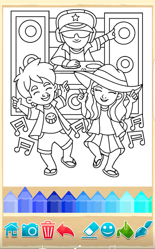 Party Coloring