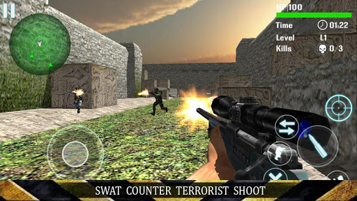 SWAT Counter Terrorist Shoot
