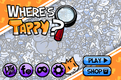 Where's Tappy? Hidden Objects