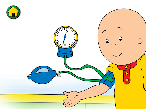 Caillou Check Up - Doctor