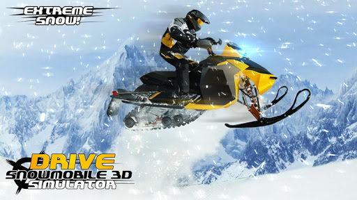 Drive Snowmobile 3D Simulator