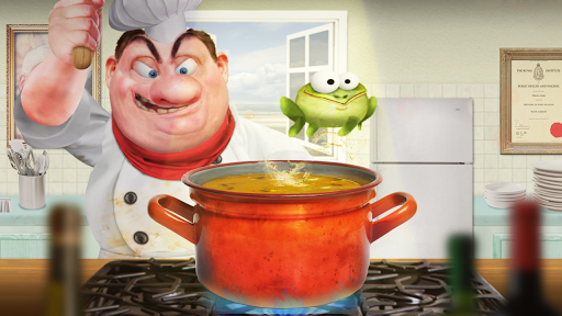 Froggy Ribbit: outrun the chef