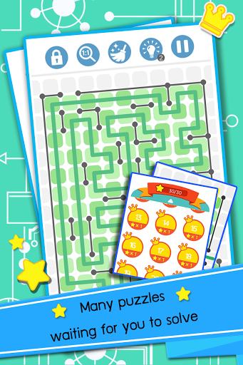 Line Maze Puzzles (Unreleased)
