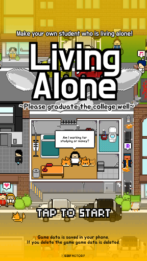 Living Alone v1.6 (Mod Apk Money)