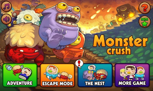 Monster Crush v1.4 Mod Apk Unlimited gold