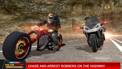 Police vs Thief MotoAttack