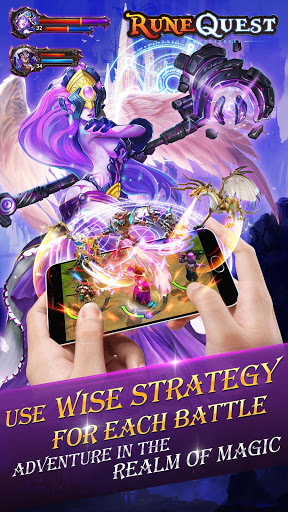 Rune Quest Strategy Herobattle