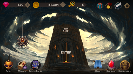 Secret Tower : 500F v8 (Mod Apk)