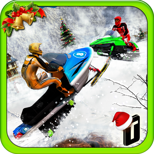 Snowmobile Crash Derby 3D