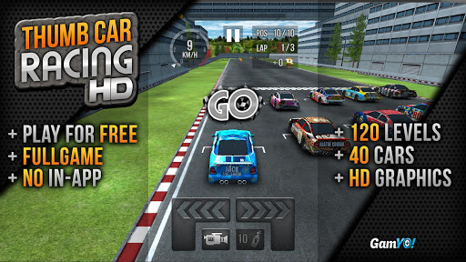 Thumb Car Racing v1.3 Mod Apk