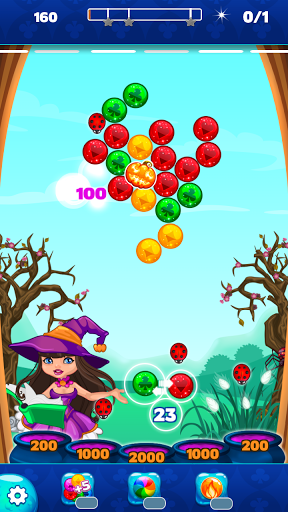 Halloween Town Bubble Shooter
