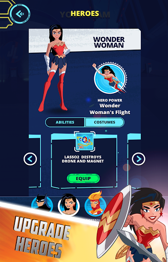 Justice League Action Run (Unreleased)