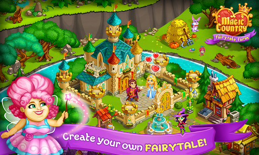 Magic Country: fairy city farm