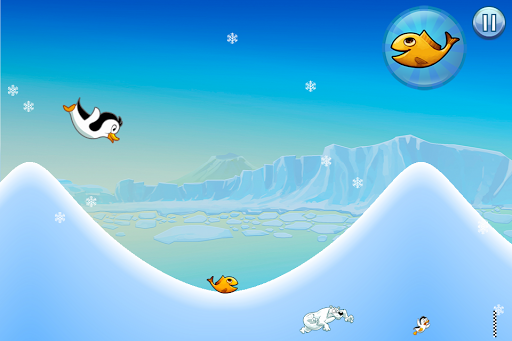 Racing Penguin - Flying Free