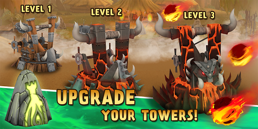 Skull Towers - Castle Defense