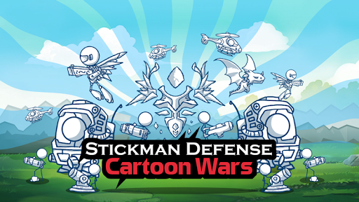 Stickman Defense: Cartoon Wars