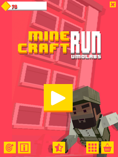 Subway MineCraft Runner