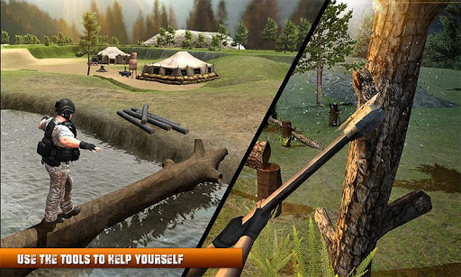 Army Commando Survival Island