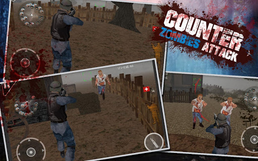 Counter Zombies Attack