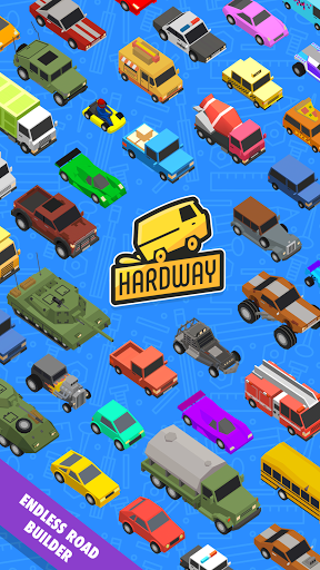 Hardway - Endless Road Builder
