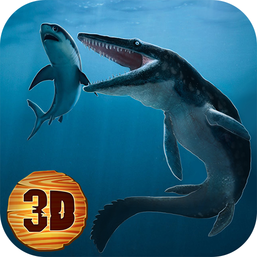 Sea Monster Megalodon Attack
