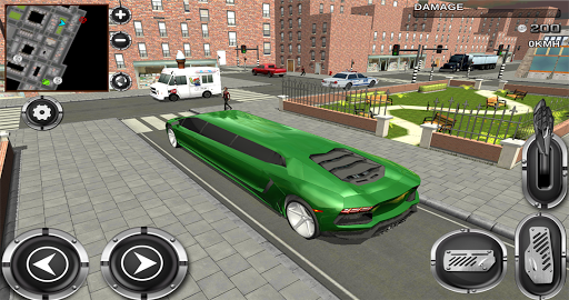 Urban City Limo Legend 3D