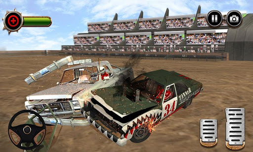 Whirlpool Demolition Derby Car