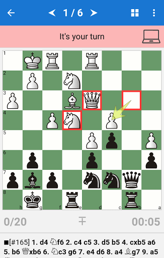 Chess Tactics in Volga gambit