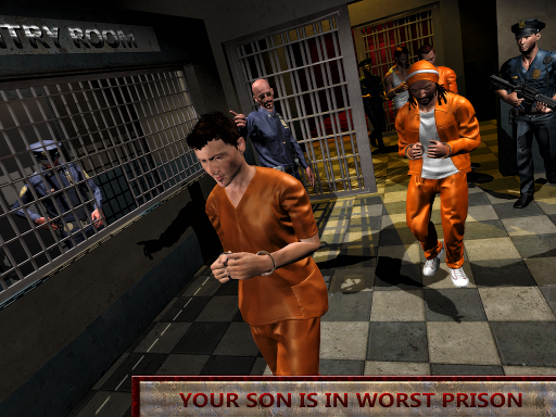 Crazy Mom Prison Escape