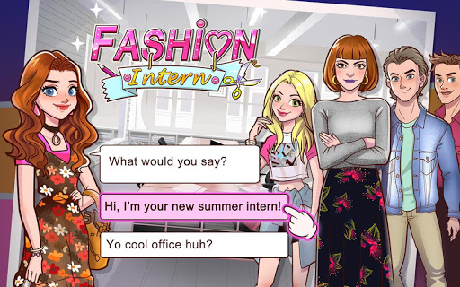 Fashion Intern Life - Romance Story Games