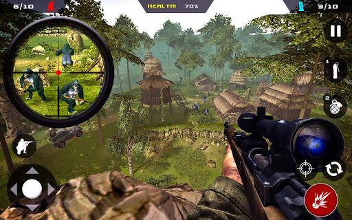 Free Apes Hunter – Jungle Survival v1.1.2 (Mod Apk Money) App