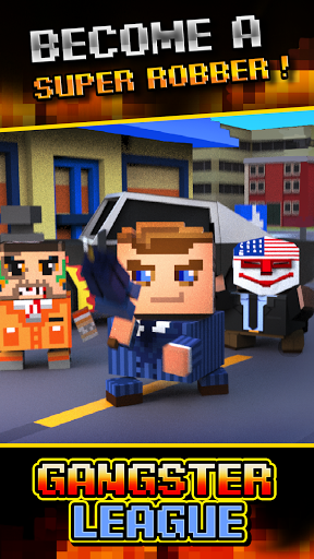 Download Gangster League – the Payday Crime v1.0.2 Mod Apk Money Apk Android