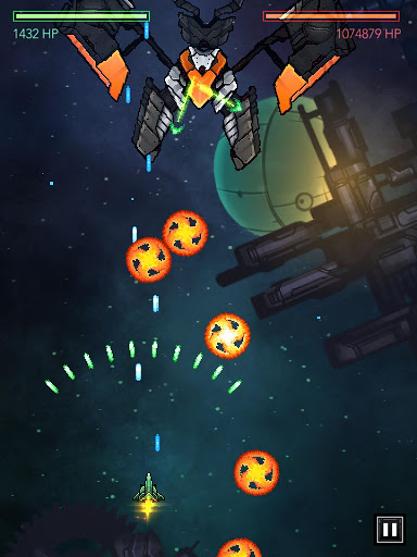 Free Gemini Strike Space Shooter v1.4.9 (Mod Apk Money) Apk Android