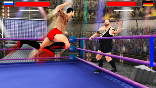 Stars Wrestling Revolution 2017: Real Punch Boxing v1.9 (Mod Apk Money)