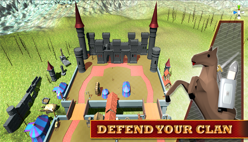 Stickman 3D: Defense of Castle