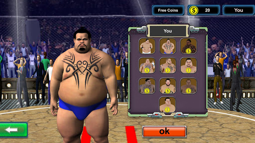 Sumo wrestling Revolution 2017: Pro Stars Fighting v1.5 Mod Apk